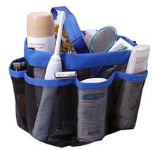 Quick Dry Hanging Toiletry and Bath Organizer with 8 Storage Compartment... - $14.70