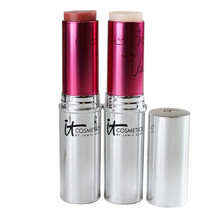 it Cosmetics Vitality Flush Stain Stick Lip & Cheek Reviver, 6.88g DAMAG... - $26.00