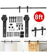 Yaheetech 8 Ft Sliding Barn Door Hardware Heavy Duty Sliding Door Hardwa... - $51.95