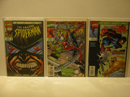 AMAZING SPIDER-MAN #416 - 418 - HEROES FAREWELL - FREE SHIPPING - $14.03