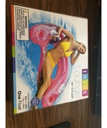 "Intex Sit N Float Lounge Inflatable Adult Pool Float Pink 60""x39"" - $14.95"