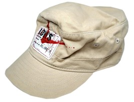 NEW NWT LEVI'S RED TAB MEN'S PREMIUM CLASSIC COTTON CADET HAT CAP ONE SIZE