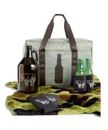 CELEBRATE SHOP PICNIC BASKET SET  Cooler - Jug - Blanket - Koozies - $34.64