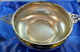 Sheffield Silverplate Decorative Serving Bowl - $27.12