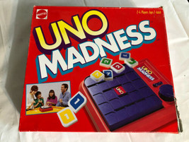 """Vtg """"Uno Madness"""" Game by Mattel 1995 Edition Complete Instructions. Exp... - $24.00"""