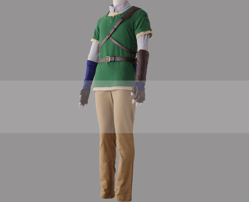 Customize The Legend of Zelda: Twilight Princess Link Cosplay Costume for Sale