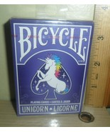 2017 Bicycle Playing Cards ~ One Unicorn Deck - $8.86