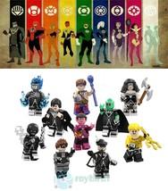 10Pcs Black Lantern Corps Superhero Sinestro Marvel DC Comics Minifigure... - $21.99