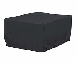 Cookingstar 36-Inch Black Square Patio Fire Pit Table Cover - $21.60