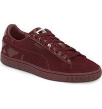 Puma Suede Classic x Mac Sin Lipstick Port Royale Womens Sneakers 368015 01 - £49.44 GBP