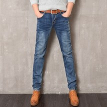Men's Spring and Summer Style Jeans Brand Denim Jeans High Quality Leisu... - $39.06