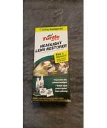 TURTLE WAX HEADLIGHT LENS RESTORER - OPENED BOX - $20.00