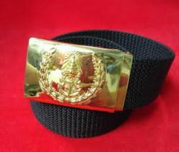 Current Militaria Royal Thai Army Thailand Military Belt Original Item Uniform - $27.12