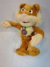 """Fisher Price Sizzle Cat Plush The Puzzle Place  Plush Toy 14"""" 1994 PBS (D) - $9.90"""