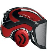 PROTOS HELMET RED AND BLACK Pfanner Protos Integral Arborist Helmet Clim... - $339.99