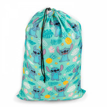 Lilo & Stitch Leaves & Pineapples Drawstring Laundry Bag Multi-Color - $18.98