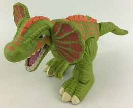 "Surge Frilled Raptor Dinosaur Imaginext 2006 Walking Motorized 14"" Dino ... - $29.65"