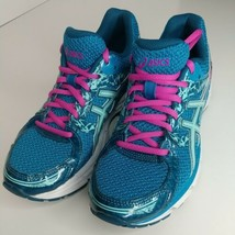 Asics T5B9N 7.5M Gel-Excite 3 blue pink womens running athletic training... - $34.60
