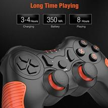 BEBONCOOL Wireless Controller for Nintendo Switch Remote Pro Controller Orange A image 7