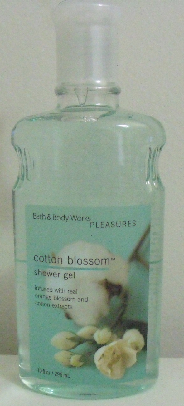 Bath and Body Works New Cotton Blossom Shower Gel 10 oz Bath & Body Works