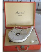 Vintage Imperial Solid-State Portable Record Player Model Number E.D. 10... - $49.49