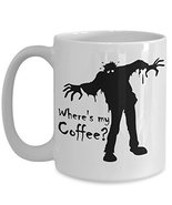 Where's My Coffee Scary Monster Coffee Mug Gift - $17.76