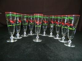 Set of 11 Vintage Buick Model G 1905 Pilsner Glasses by Libby All Mint - $99.99