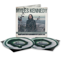 MYLES KENNEDY IDES OF MARCH GREEN & WHITE VINYL  2 LP SIGNED ART/ETCHED ... - £53.77 GBP