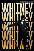 "Whitney Movie Poster Whitney Houston Kevin Macdonald Film Print 24x36"" 2... - $10.79+"