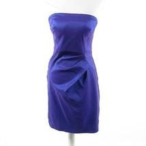 Iridescent purple CALVIN KLEIN strapless sheath dress 4 - $34.99
