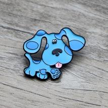 L1379 Blue Spotted Dog Metal Brooches and Pins Enamel Pin for Backpack/B... - $7.99
