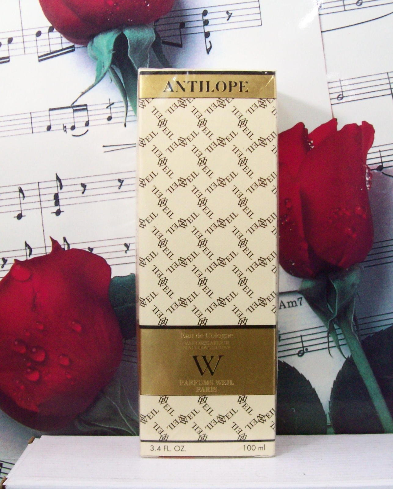 Primary image for Antilope By Weil Cologne Spray 3.4 FL. OZ.