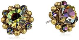 "Sorrelli  ""Volcano"" Crystal Confetti Earrings - $47.69"