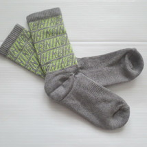 Nike Youth Performance Crew Socks - SX5815 - Gray - Size M - NEW - $6.99
