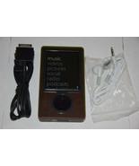 Microsoft Zune 30 GB Brown Wi-Fi FM Radio AAC WMA MP3 Medi Player New ba... - $99.99
