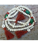 Prayer Beads Tibetan Style Yak  108 Bead Mala - 8mm. #42036 - $44.09