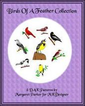 Birds of a Feather Collection Machine Knit DAK ... - $2.40