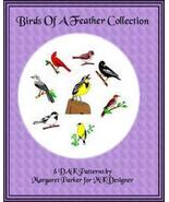 Birds of a Feather Collection Machine Knit DAK ePatterns - $2.40
