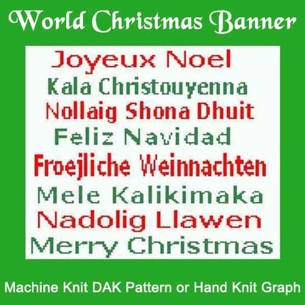 Christmas Around The World HK Graph MK DAK