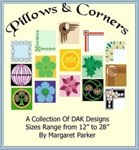 Machine Knitting Pillows & Corners DAK ePatterns - $3.00