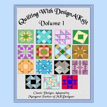 Knit Classic Quilt Patterns V.1 HK Graphs MK DAK - $5.00
