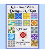 Quilt With Design-A-Knit V.3 HK Graphs MK DAK - $5.00