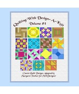Quilt With Design-A-Knit V.4 HK Graphs MK DAK - $5.00