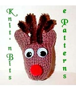 Knit n Bits Merry Christmas Machine Knit Patterns - $1.80