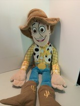 "PIXAR DISNEY Figure TOY STORY WOODY 24"" PLUSH Stuffed Jay Franco Plush C... - $12.49"