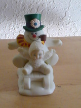 "Dept. 56 Snowbabies ""Fun With Frosty The Snowman"" Figurine - $30.00"