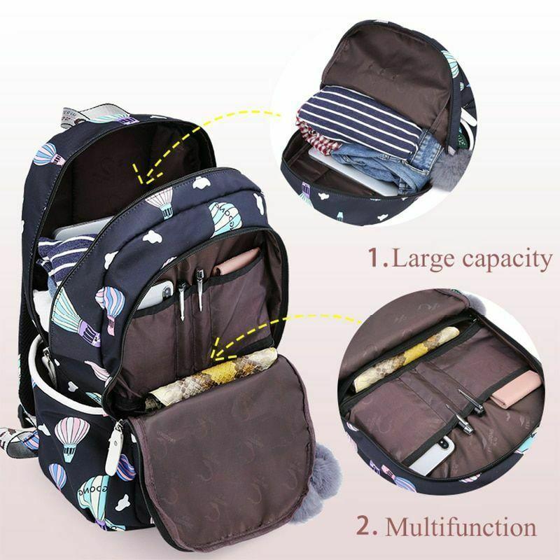 Women Backpack Travel Anti Theft Design Large Capacity Teenage Girl School Bags image 2