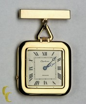 Cartier Gold Square Antique Pocket Watch, 29 Jewels Repeater w/ Original... - $72,761.77