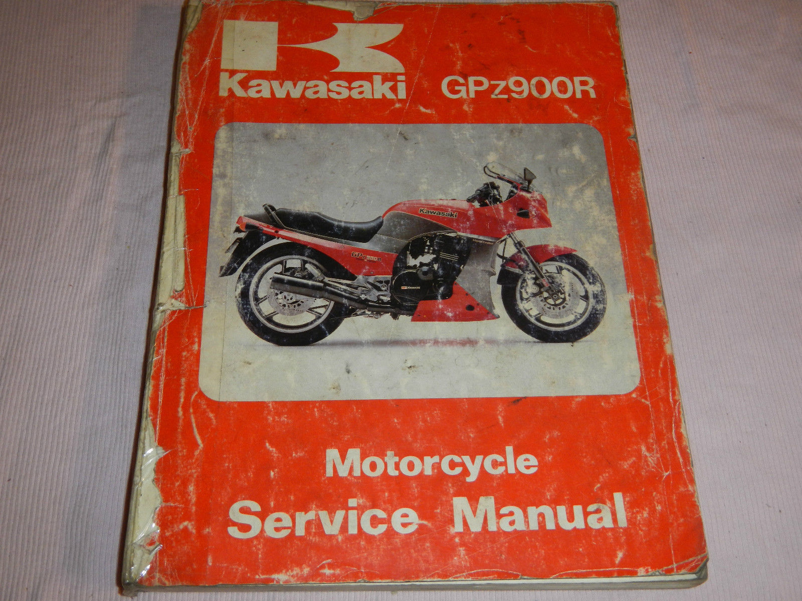 1984 84 1985 85 KAWASAKI GPz900R GPZ 900 R SHOP SERVICE REPAIR MANUAL