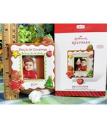 Hallmark Baby's First Christmas Photo Holder 2014 One Cute Cookie ornament - $8.99